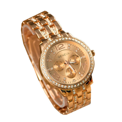 Ultraclass Supreme Gold Plated Watch