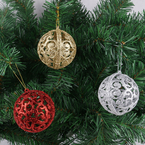Magical Glitter Christmas Tree Ornament Decoration Balls