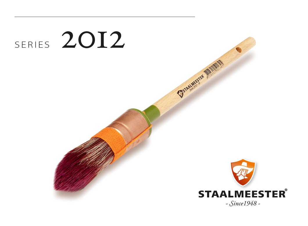 Staalmeester Pro-Hybrid  Pointed Sash Paint Brush 2022-10 (20mm) - *NEW