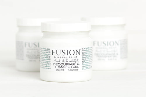 Decoupage & Transfer Gel 250ml - Fusion Mineral Paint