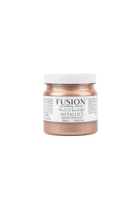 Rose Gold Metallic Fusion Mineral Paint
