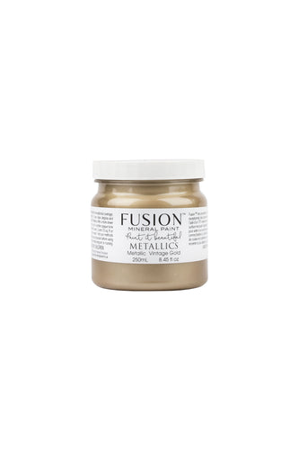 Metallic Fusion Mineral Paint - Vintage Gold *NEW*
