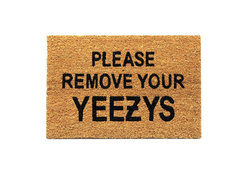 Please Remove Your Yeezys Rug