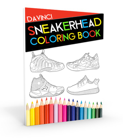 Da Vinci Sneakerhead Coloring Book