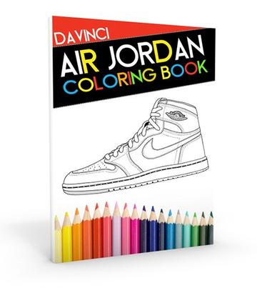 Da Vinci Air Jordan Coloring Book