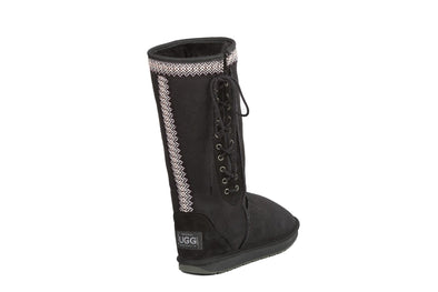 Braidy Bunch Tall Lace Up UGG Boots