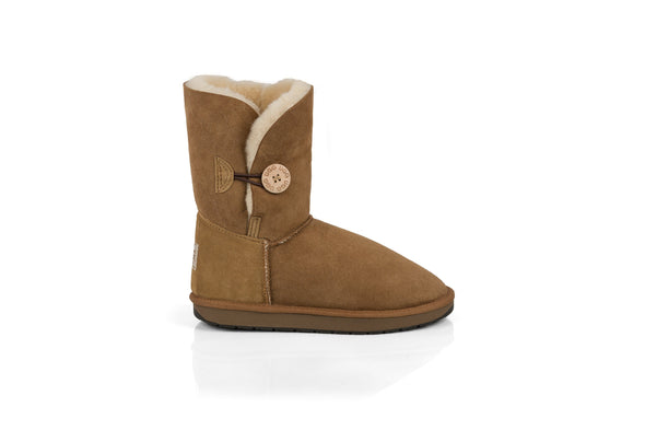 Single Button UGG Boots