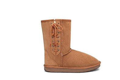 Short Lace Up UGG Boots