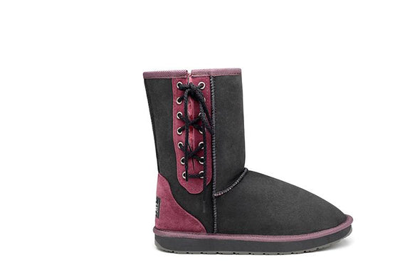 Short Lace Up UGG Boots - Limited Edition