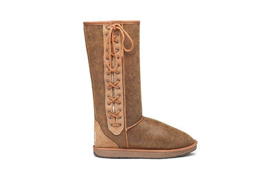 Tall Lace Up UGG Boots - Limited Edition