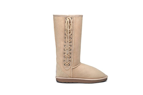 Tall Lace Up UGG Boots