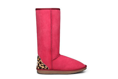 Safari Leopard Tall UGG Boots - Clearance