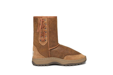 Rugged Short Lace Up UGG Boots