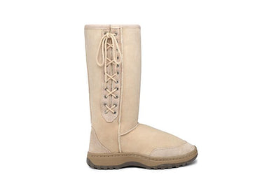 Tall Rugged Lace Up UGG Boots