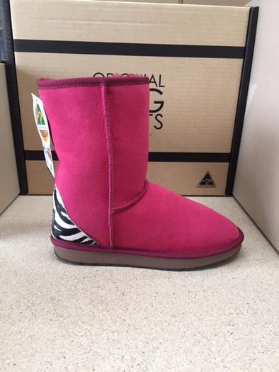 RUBY / ZEBRA DELUXE UGG BOOTS