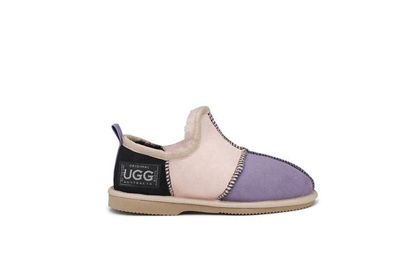 Kids Milly Patch UGG Slippers