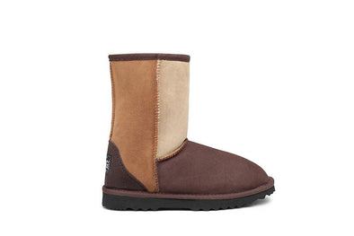 Rustic Patch Deluxe UGG Boots