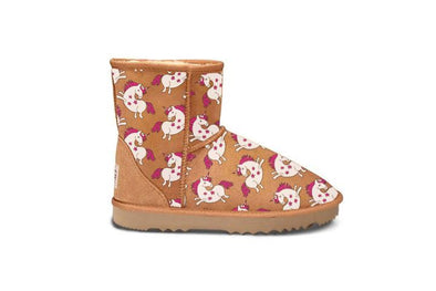 Unicorn Chestnut Short UGG Boots