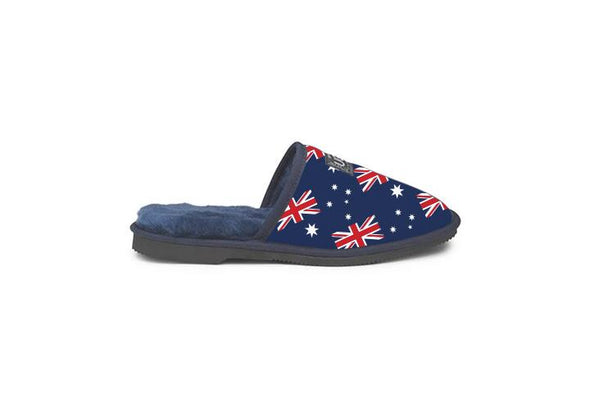 Aussie Flag Navy UGG Scuffs