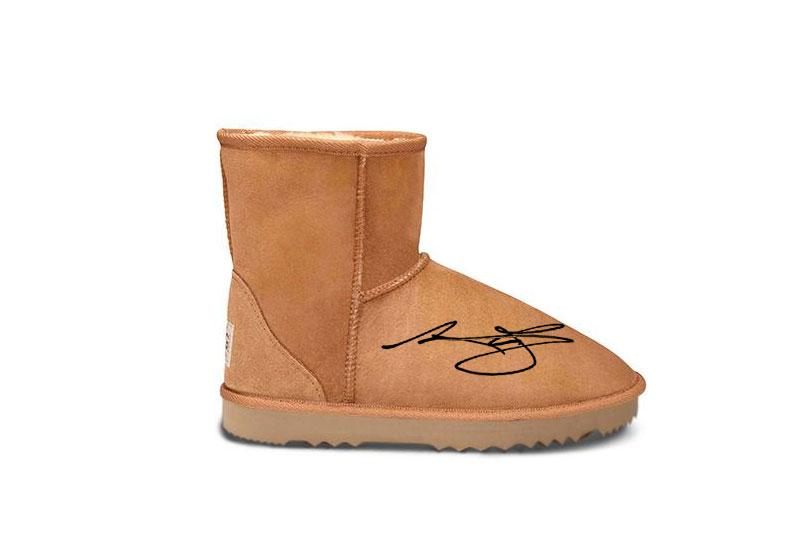 143d0d7aa90cd8 Limited Edition Andrew Bogut Signed Short UGG Boot – Original UGG Boots  Australia