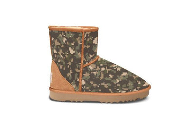 Digital Camo Short UGG Boots
