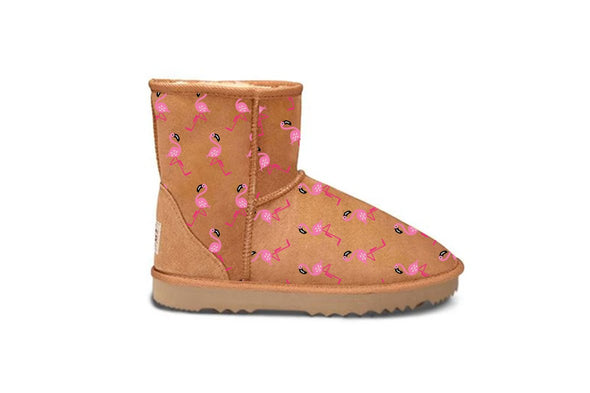 Flamingo Chestnut UGG Boots