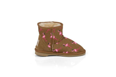 Flamingo Kids Chestnut UGG Boots