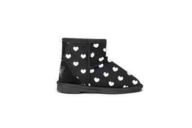 Lita Heart Black Kids UGG Boots