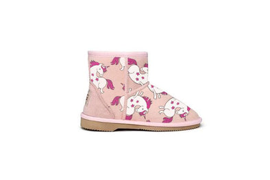 Unicorn Kids UGG Boots Pink