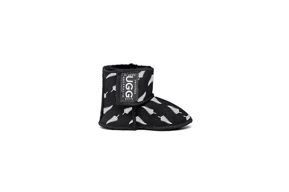 Black Fern Baby UGG Boots