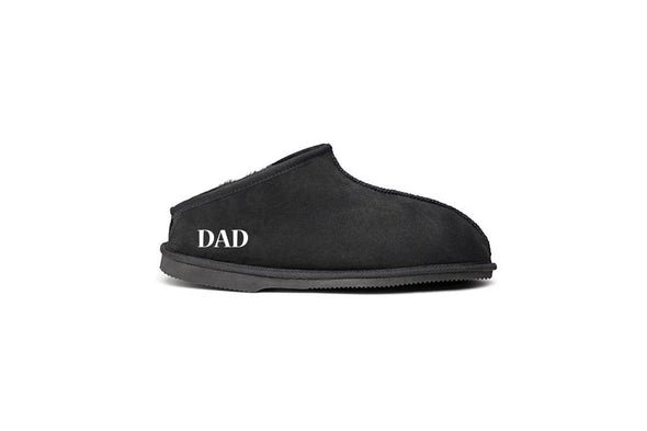 FATHER'S DAY MONOGRAM SPEEDBOAT UGG SLIPPERS
