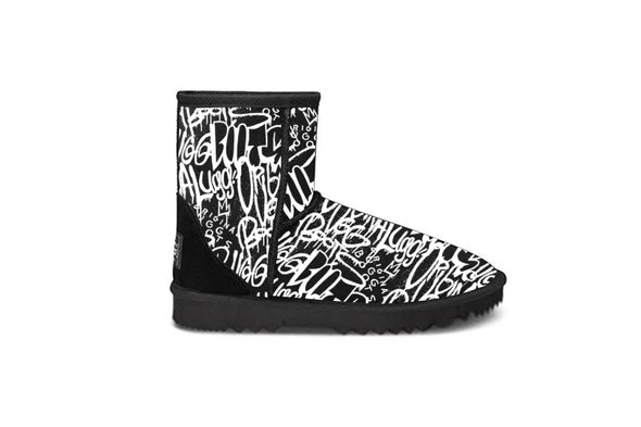 Kevy Graff Black Short UGG Boots
