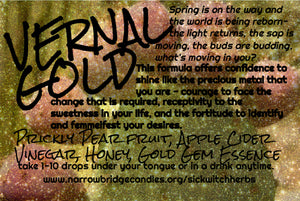 Vernal Gold Elixir