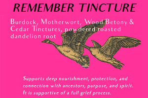 Remember Tincture- Thank You New Members!