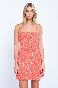 Time to Grow Floral Mini Dress