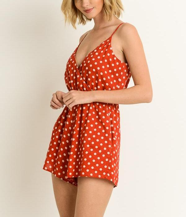 The One that Dot Away Romper