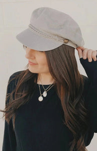Grey Sailor Hat