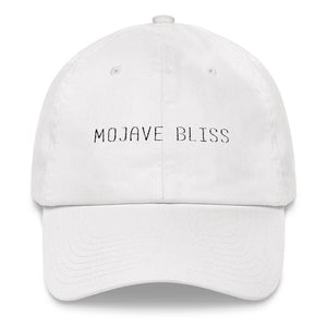 Mojave Bliss White Dad hat