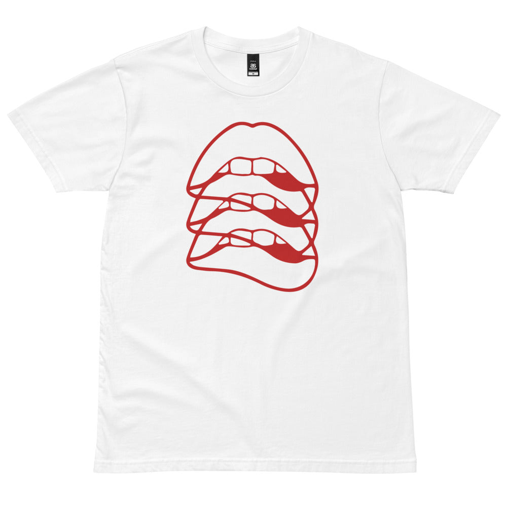 Triple Lip Graphic Tee