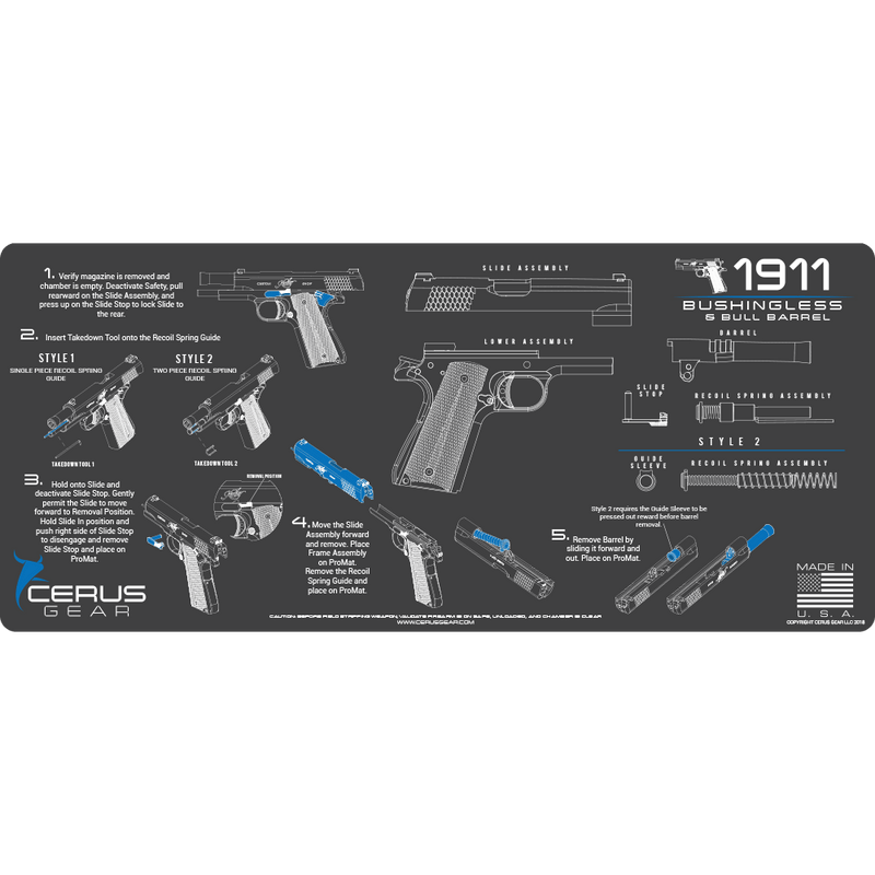 Best 1911 Bushingless Cleaning Guide