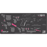 WOMENS 1911 FIELD STRIP MAT WITH DIRECTIONS