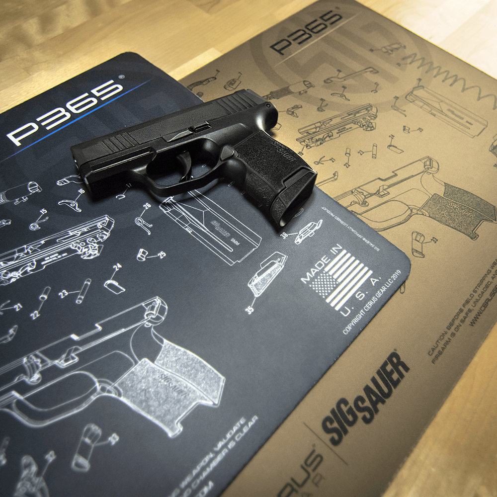 Sig Sauer 174 P365 Schematic Promat Licensed Amp Endorsed By