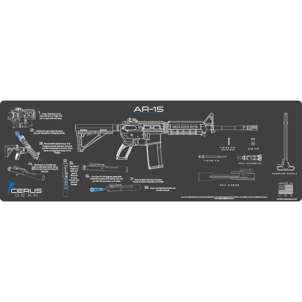 Ar 15 Instructional Promat Take Down Your Ar 15 With Confidence