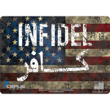 Patriotic Firearm Maintenance Pad Infidel