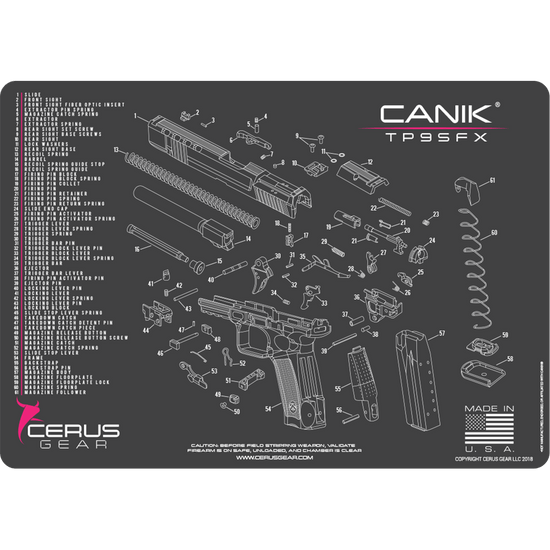 Canik Tp9sfx Schematic Promat Clean Your Tp9 Like A Pro Cerus
