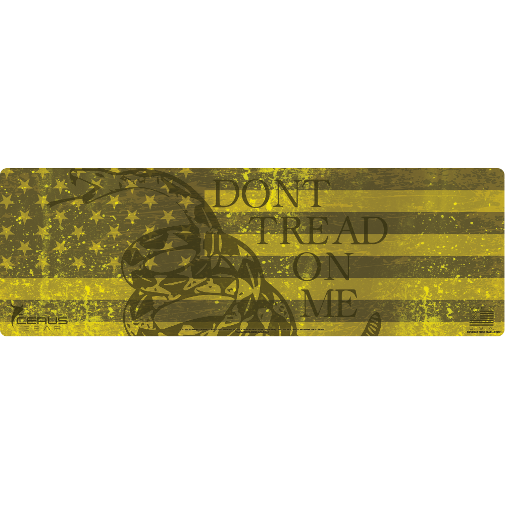 BEST DON'T TREAD ON ME RIFLE CLEANING MAT