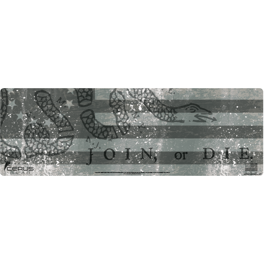BEST JOIN OR DIE RIFLE CLEANING MAT