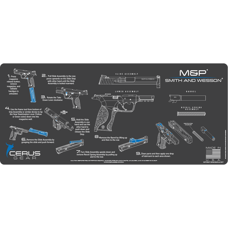 HOW TO CLEAN M&P