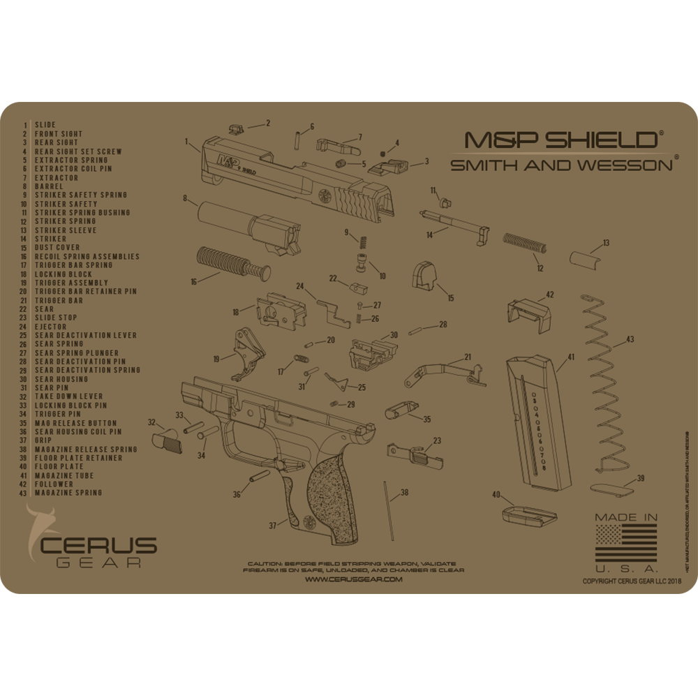 M Amp P Shield 174 Schematic Promat The Ultimate Cleaning Mat