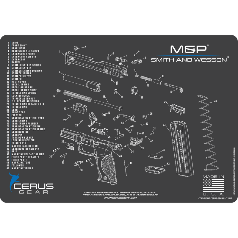 BEST SCHEMATIC M&P SMITH & WESSON